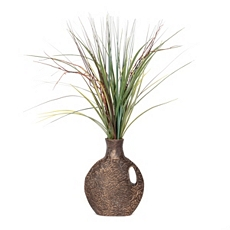 Grass Carved Deco Floral Arrangement at Kirkland's