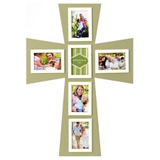 Green Cross Collage Frame at Kirkland's