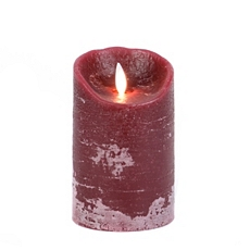 Burgundy LED Flameless Candle, 5 in. at Kirkland's