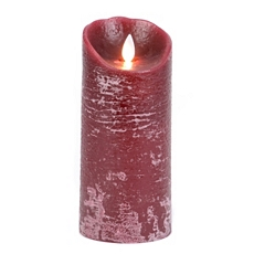 Burgundy LED Flameless Candle, 7 in. at Kirkland's