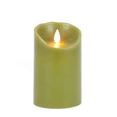 Green LED Flameless Candle, 5 in. at Kirkland's