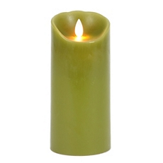 Green LED Flameless Candle, 7 in. at Kirkland's