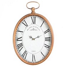 Gold Pocket Watch Clock at Kirkland's