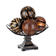 Global Bronze Orb Bowl Set at Kirkland's