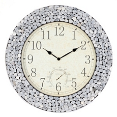 Stone Wall Clock at Kirkland's