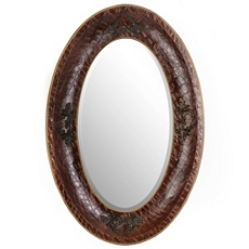Textured Wood Wall Mirror, 32x48 at Kirkland's