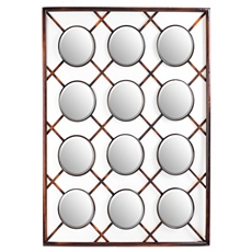 Criss Cross Wall Mirror, 32x40 at Kirkland's
