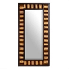 Webster Wood Wall Mirror, 24x48 at Kirkland's