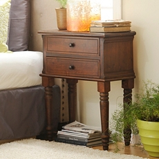 Sadie Antique Mahogany Nightstand at Kirkland's