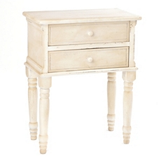 Sadie Antique Ivory Nightstand at Kirkland's