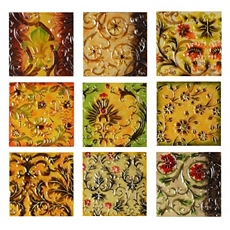 Scenes De Fleur Plaque, Set of 9 at Kirkland's