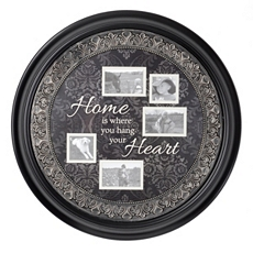 Home Sentiment Black Collage Frame at Kirkland's