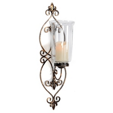 Eternity Metal Sconce at Kirkland's