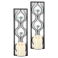 Turquoise Stone Sconce, Set of 2 at Kirkland's
