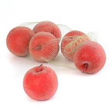 Beaded Red Apples, Set of 6 at Kirkland's