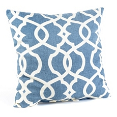 Blue Lattice Pillow at Kirkland's