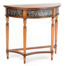 Estes Demilune Console Table at Kirkland's