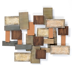 Building Blocks Metal Wall Art at Kirkland's