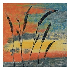 Leaves In Paradise Canvas Art Print at Kirkland's
