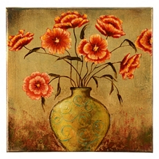Sandy's Flowers Canvas Art Print at Kirkland's