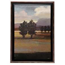 Serene Land Framed Art Print at Kirkland's