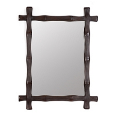 Cross Hatch Wall Mirror, 43x53 at Kirkland's