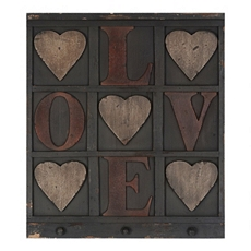 L.O.V.E. Wall Plaque at Kirkland's