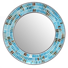 Azul Mosaic Wall Mirror, 24 in. at Kirkland's