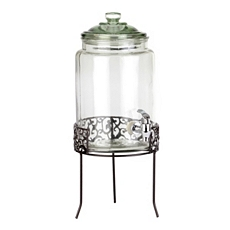Danbury Glass Beverage Dispenser, 1.5-Gallon at Kirkland's