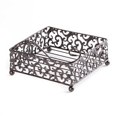 Pressed Metal Napkin Holder at Kirkland's