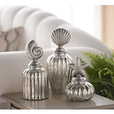 Coastal Mercury Glass Jar, Set of 3 at Kirkland's
