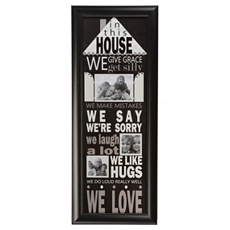 In This House 3-Opening Family Collage Frame at Kirkland's