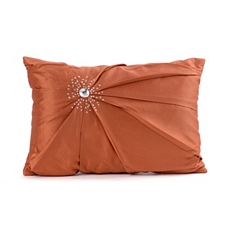 Spice Diamond Burst Silk Pillow at Kirkland's