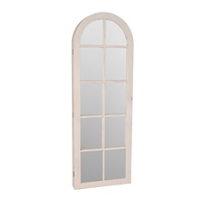 Cream Window Pane Armoire Mirror at Kirkland's