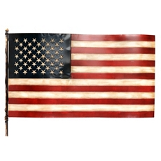 Americana Flag Metal Wall Art at Kirkland's