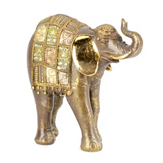 Gold Elephant Statue at Kirkland's