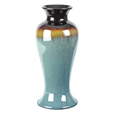 Sand Blue Ceramic Vase at Kirkland's