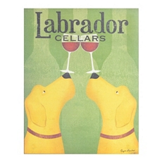 Yellow Labrador Canvas Art Print at Kirkland's