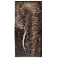 Najia Elephant Canvas Art Print at Kirkland's