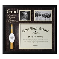 Graduation Tassel & Diploma Collage Frame at Kirkland's
