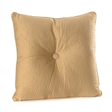 Tan Embossed Scroll Pillow at Kirkland's