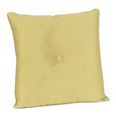 Green Embossed Scroll Pillow at Kirkland's