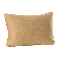 Tan Embossed Scroll Oblong Pillow at Kirkland's