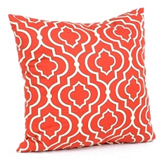 Donetta Brick Red Pillow at Kirkland's