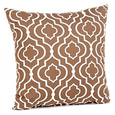 Donetta Chocolate Brown Pillow at Kirkland's