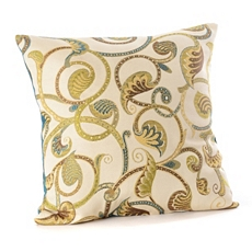 Felicity Vine Blue & Green Pillow at Kirkland's