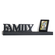 Family Photo Wall Shelf, 24 in. at Kirkland's