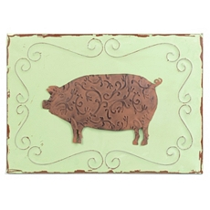Pig Wall Plaque at Kirkland's
