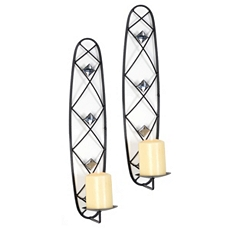 Gem Pillar Sconce, Set of 2 at Kirkland's