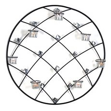 Round Diamond Tealight Holder at Kirkland's